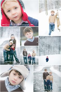 Boy Portraits in Snow Three Winks Photography, Custom Children's Portraiture by Jill Tomb » ...because in Three Winks they're grown