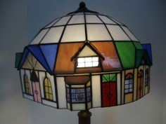 Example of customer repair; glass was broken in a few places, but most things are very repairable and glass can be matched. Example of customer repair; glass was broken in a few places, but most things are very repairable and glass can be matched. Stained Glass Lamp Shades, Stained Glass Light, Tiffany Stained Glass, Stained Glass Birds, Stained Glass Windows, Stained Glass Supplies, Stained Glass Projects, Stained Glass Patterns, Leaded Glass