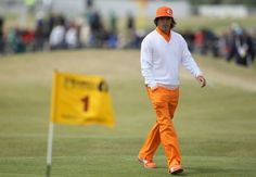 Rickie Fowler 140th open