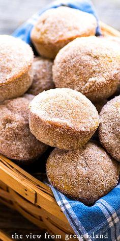 Donut Recipes, Apple Recipes, Fall Recipes, Baking Recipes, Pumpkin Recipes, Beef Recipes, Fall Desserts, Just Desserts, Dessert Recipes