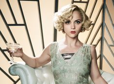 Welcome Back Wednesday: Christina Ricci Returns as Zelda Fitzgerald from InStyle.com