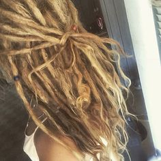 55 Luxury human hair knotty dread Extensions full by LazyRogue