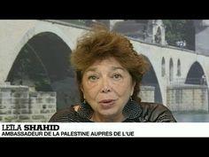 """▶ Leïla Shahid : """"Le gouvernement Netanyahou instrumentalise l'assassinat des trois jeunes israéliens"""" - YouTube"""