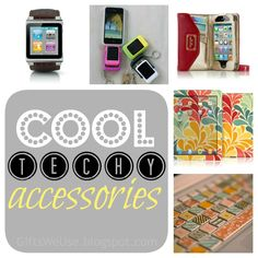 We would love to dress up our gadgets with these cool techy accessories via Gifts We Use