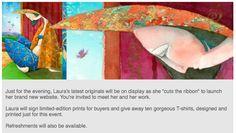 May 10: Artist Laura Lorraine Beatty Website Launch Reception.
