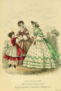 The Englishwoman's Domestic Magazine 1861
