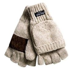 New with tags WOMENS TEXTING/ GLOVES  Raggwool fingerless  & fliptop  Size - ONE #Bronner #texting