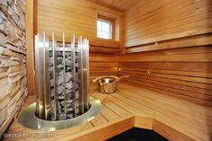 Sauna My House, Sweet Home, Stairs, Lighting, Ideas, Home Decor, Stairway, Decoration Home, House Beautiful