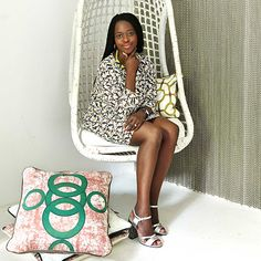 Eva Sonaike is a London-based lifestyle company producing luxurious home décor, fashion accessories and textiles using vibrant African prints and tribal prints to bringing wonderful colour into people's homes and wardrobes.