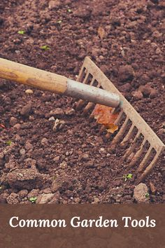 What is it, why might you need it, and how can it help you? Garden tools have specific uses, and knowing which one will help you in your garden will set you on the right path to keeping your garden in top shape. Must Have Tools, Garden Tools, Paths, Shape, Canning, Recipes, Top, Yard Tools, Recipies