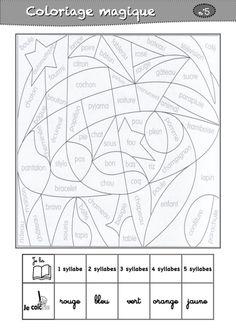 coloriages magiques CP - La classe de Luccia !