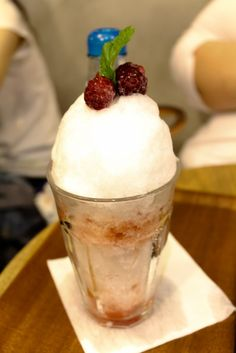 Eating out: Shari Shari Shaved ice Kakigori