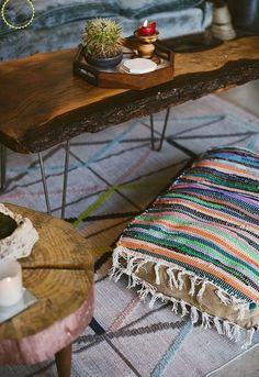 diy boho floor pillow using dollar store rugs....love the idea to use the cheap rugs to have a great cushion!!!