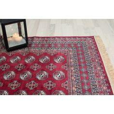Bokhara Silk rød 133x195