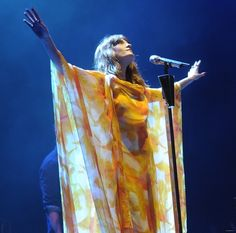 Florence Welch and Carlos Miele Spring 2012 Printed Caftan