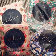 Packed and ready to send. More information on our products, please visit http://www.talitahijab.com