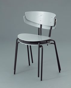 ferm LIVING Herman chairs in grey: http://www.fermliving.com/webshop/shop/furniture/herman-chairs.aspx