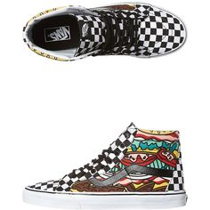 387f72866aa139 Vans Sk8 Hi Reissue Late Night Shoe (6.320 RUB) ❤ liked on Polyvore  featuring