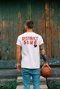 District 5ive Bred Tee                   #district5ive #d5 #streetwear #mensstyle #fashion #sneakers #screenprinting #jordan #airjordan #bred #banned #melbourne