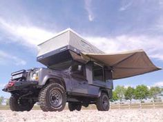 Bespoke Pop-up Camper bodies for Land Rover and Toyota Land Cruiser