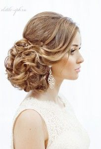 Bridal Hair and make up by ELSTILE (elstile.com, elstile.ru) Bridal Hair updo