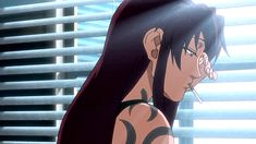 Anime rocks, doesn't it? Fashion Network, Black Lagoon, Ghost In The Shell, Female Anime, Anime Films, Awesome Anime, Anime Comics, Thriller, Badass