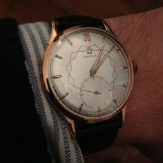 Vintage Omega. Not a huge watch guy, but this one is beautiful.