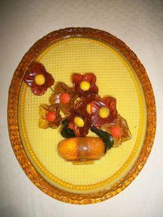 VTG  WONDERMOLD IND, U.S.A WALL DECOR Acrylic Resin Flowers Mid Century Art 60s Hippie Flowers, Mid Century Art, Resin Flowers, Acrylic Resin, Wall Decor, Plates, Tableware, Ethnic Recipes, Color