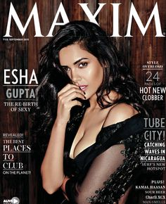 The Most Beautiful Miss #‎EshaGupta‬ covers the September issue of #MaximIndia Magazine..Readers can download the app from  iTunes Newstands and Playstore..Grab your copy now