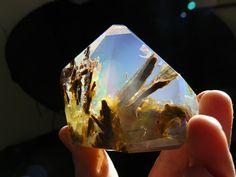 Christal opal looks like an aquarium