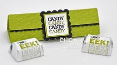 Hershey kisses holder @chic'nscratch