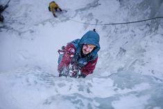Classes on ice in Tuyuk-Su Mountain Camp