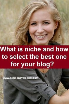 So you want to know; what is niche? Niche means your most favorite topic. It is a topic which you enjoy a lot. You don't take it as simply a work. Whenever you are happy you work on it. Whenever yo…
