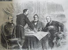 ⌛️ 28 janvier 1871 : L'armistice franco-allemand est conclu entre le Gouvernement de la Défense nationale et le gouvernement impérial allemand. Il met fin aux combats de la Guerre franco-prussienne de 1870.