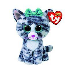 Ty Beanie Boo Small Quinn the Cat Plush Toy Ty Animals, Ty Stuffed Animals, Ty Peluche, Beanie Boo Birthdays, Ty Beanie Boos, Beanie Babies, My Little Pony Dolls, Ty Babies, Ty Toys