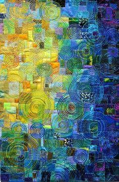sophiawyndham:  art quilt by Carol Taylor