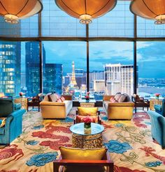 mandarin-oriental-paris  Mandarian Oriental - Las Vegas.  Vegas is ultra tacky... I know, but interesting interior.