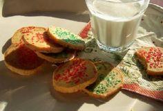 GF Lemon Zest Sugar Cookies