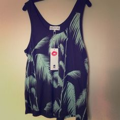 Wildfox bamboo top New with tags Wildfox Tops Tank Tops