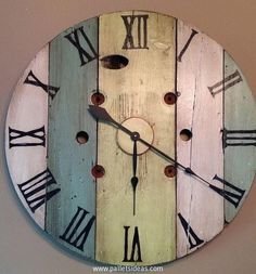 To make this wooden pallet wall clock you also need to be well versed with this specific skill related to watches and clocks. But if you just have to make it as a symbolic and static clock, just go for it.