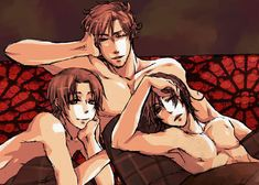 grandpa rome | Hetalia Italy Italy, Romano and Grandpa Rome!.... I don't know if this is really hot or what