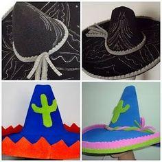 Resultado de imagen para como hacer gorros y sombreros de cotillon 55f31a1c702