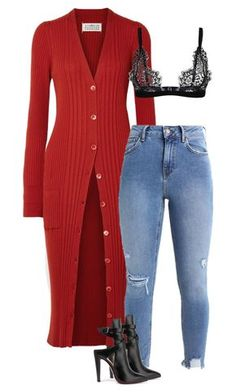 """""""Untitled #770"""" by ahmonie ❤ liked on Polyvore featuring Maison Margiela and Christian Louboutin"""