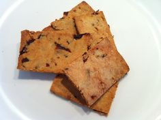 Cooking for Parrots: Homemade Almond Flour Crackers: