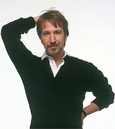 Alan Rickman.....if I had a school teacher that looked like this! I would've gone to his class just to look at him :)
