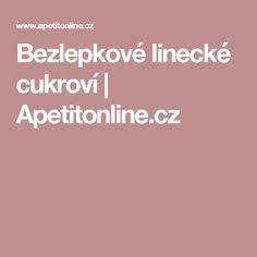 Bezlepkové linecké cukroví | Apetitonline.cz