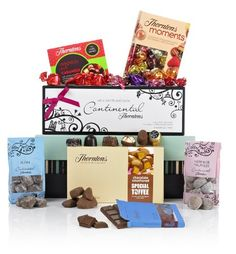 Thorntons I Love Chocolate Hamper 2012 @ I Love Chocolate, Christmas Chocolate, Chocolate Gifts, Retro Sweet Hampers, Thorntons Chocolate, Dip And Dab, Dolly Mixture, Chocolate Hampers, Jelly Babies