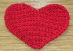 Coração em croché