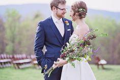 April Bohemian-Inspired Montfair Resort Wedding | Charlottesville, VA