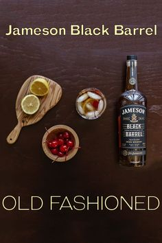 This Jameson Black Barrel Old Fashioned will get you in the fall spirit. Smooth and mellow, the intense flavors of Black Barrel whiskey balance perfectly with bitters for a fall treat.